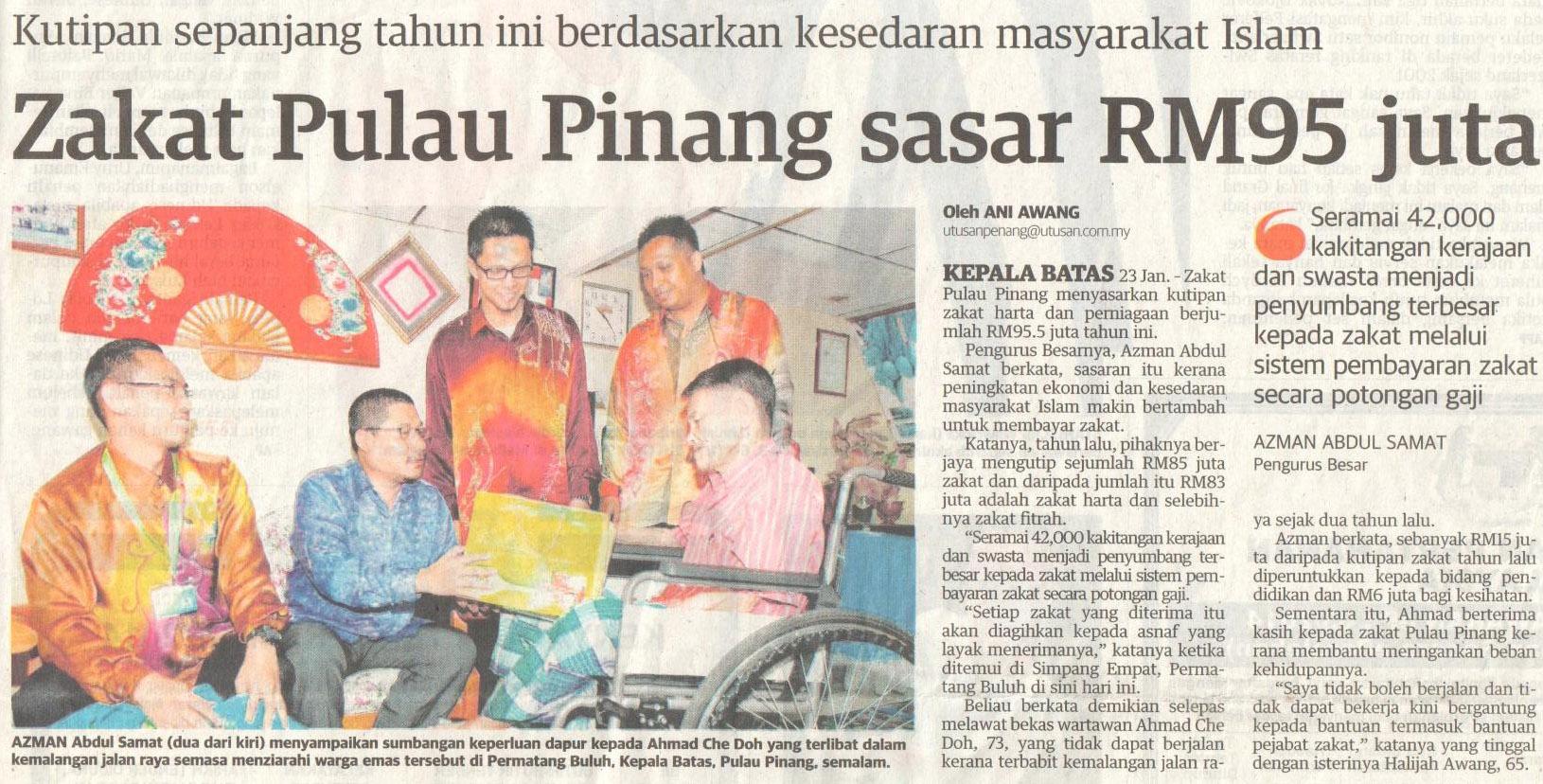 23 Januari 2014 (Utusan Malaysia)